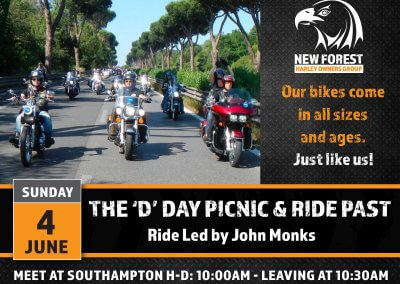 The 'D' Day Picnic & Ride Past
