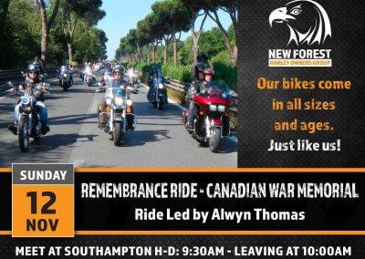 Remembrance Ride