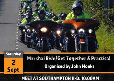 Marshal Ride/Get Together & Marshals Practical