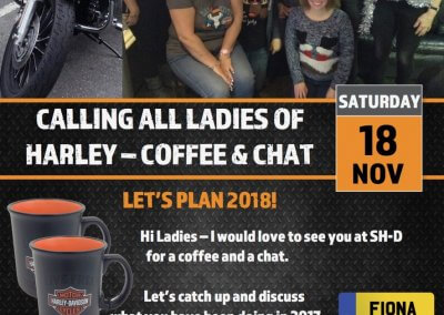 Ladies of Harley Coffee Morning at SH-D