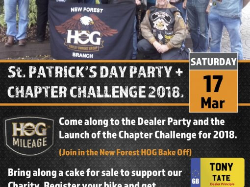 St Patrick's Day Party  Chapter Challenge Launch