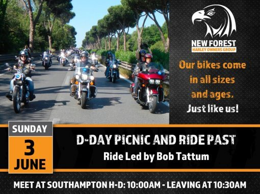 D-day Picnic and Ride Past
