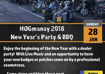 HOGmanay New Years Party