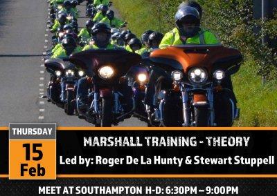 Marshall/Marshall Improver Training