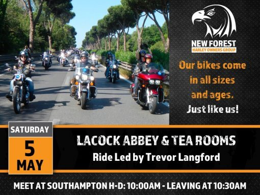 International Ladies Ride Day to Lackock