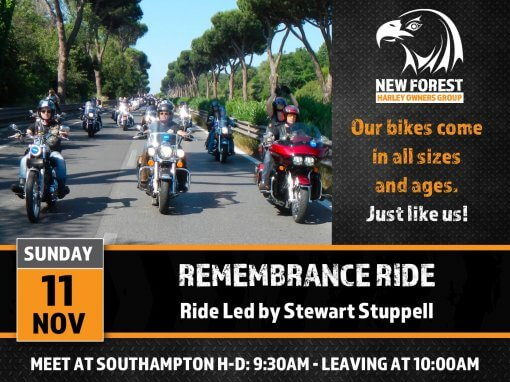 Remembrance Ride